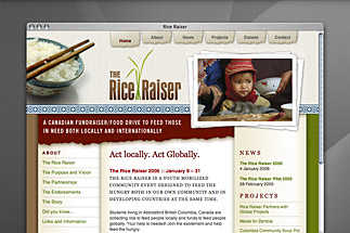 The Rice Raiser Website