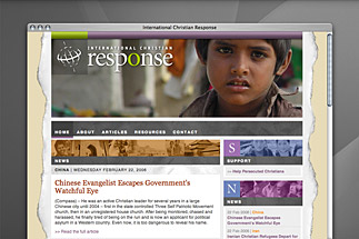 International Christian Response Website