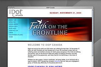 IDOP 2004 Website
